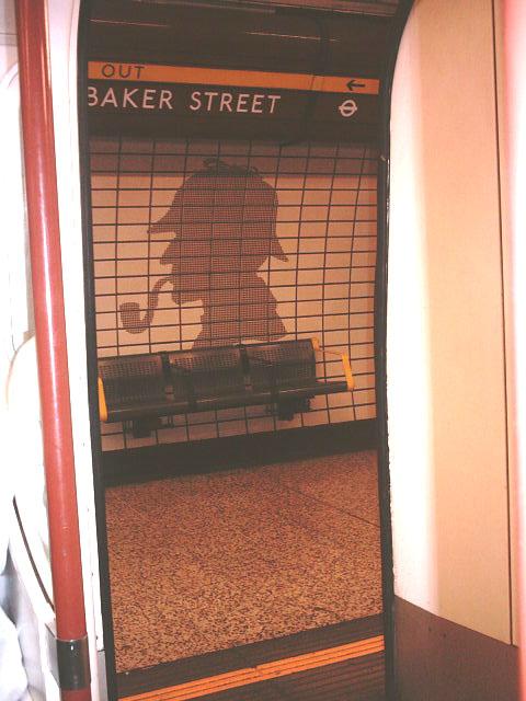 Baker Street Station via Bakerloo Line