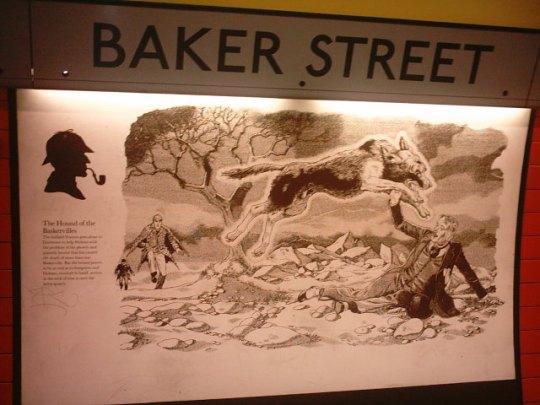 Baker Street Station via Jubelee Line D'tails 1