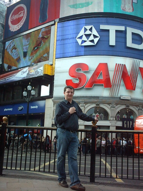 Dave … Piccadily Circus