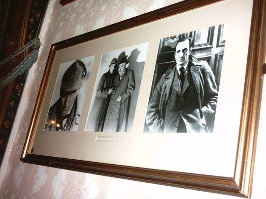 Sherlock Holmes's Pub- d'tail interieur salle restaurant 2
