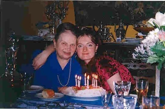 mamy et moi