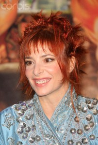 "27 Nov 2006, Paris, France --- Mylene Farmer attends the premiere of the film ""Arthur et les Minimoys"" (Arthur and the Minimoys) held in Paris. --- Image by © Stephane Cardinale/People Avenue/Corbis"